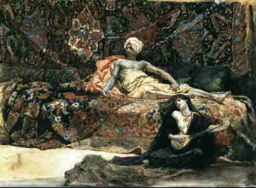 Henri Regnault - Hassan and Namouna 1870
