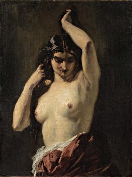 Henri Regnault - La Gitane aux seins nus -1869