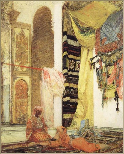 Henri Regnault - Patio in Tangiers