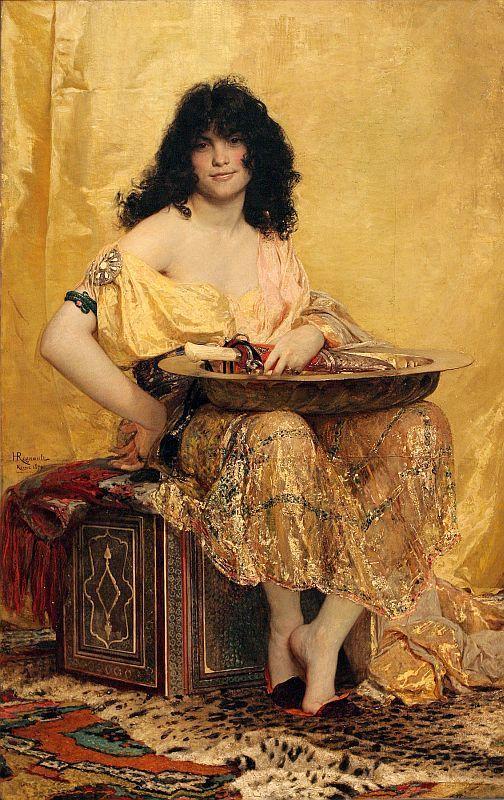 Henri Regnault - Salome 1870