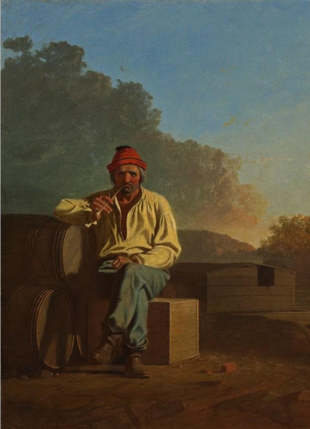 George Caleb Bingham - Mississippi Boatman - 1850