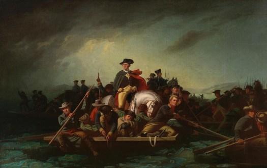 George Caleb Bingham - Washington Crossing The Delaware -1856-71