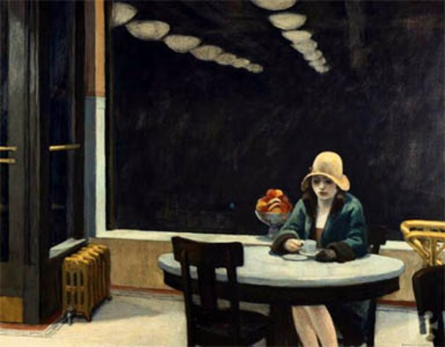 Edward Hopper - Automat - 1927