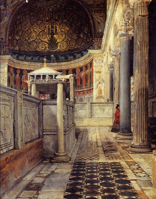 Lawrence Alma-Tadema - Chiesa San Clemente - 1863