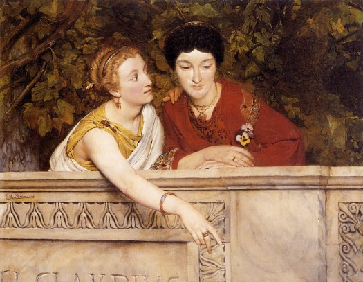 Lawrence Alma-Tadema - Gallo Roman Women - 1865
