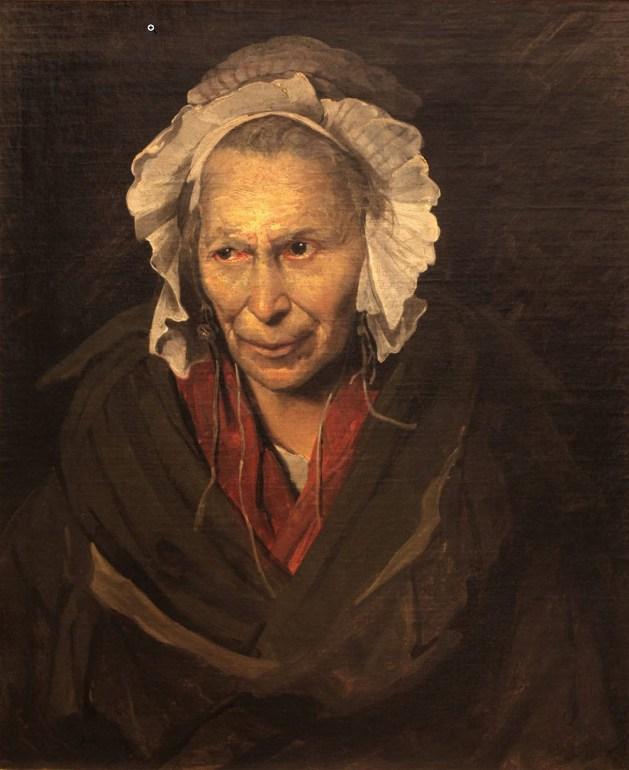 Theodore Gericault - Insane Woman - 1822