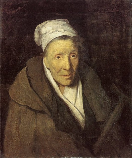 Theodore Gericault - The Woman with a Gambling Mania - 1822