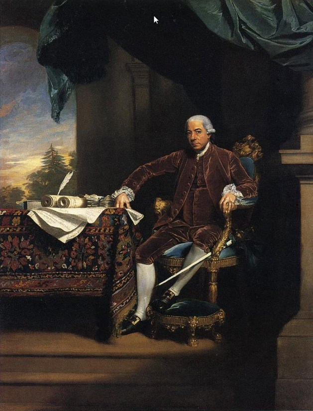 John Singleton Copley - Henry Laurens - 1782