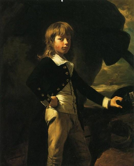John Singleton Copley - Midshipman Augustus Brine - 1782