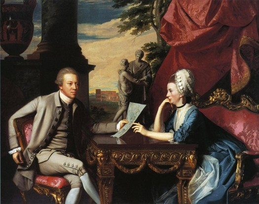 John Singleton Copley - Mr. and Mrs. Ralph Izard - 1775