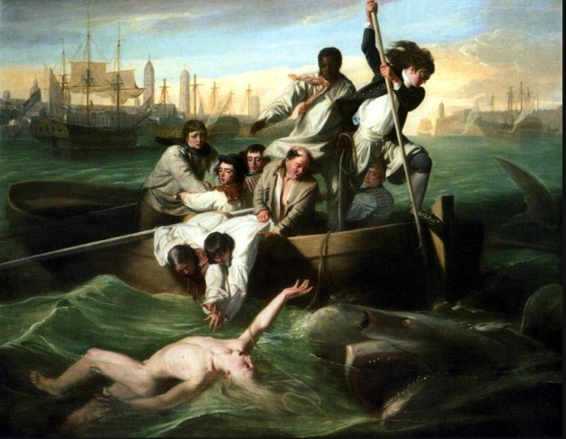 John Singleton Copley - Watson and the Shark - 1782