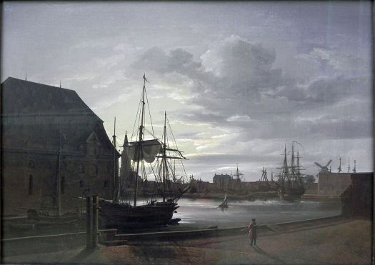 Johan Christian Dahl - Frederiksholms Kanal