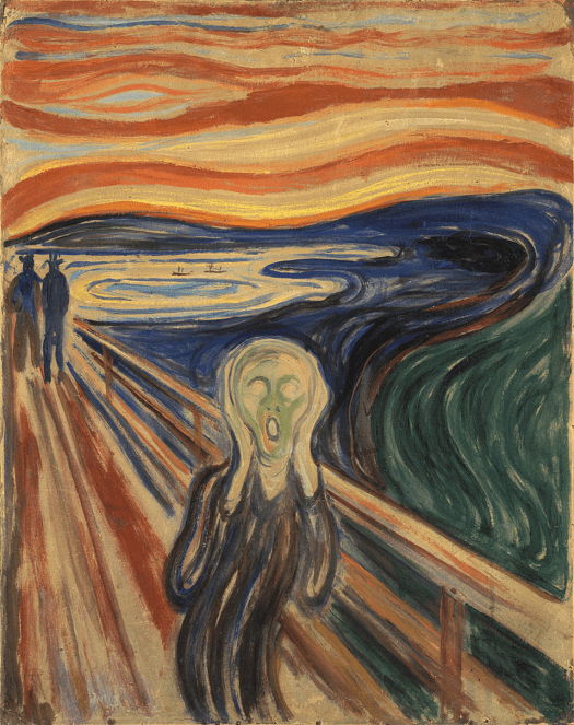 Edvard Munch - The Scream (5) - 1910
