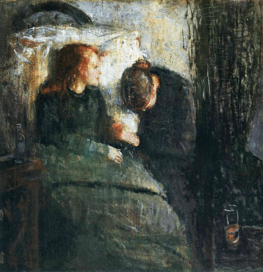 Edvard Munch - The Sick Child - 1885-86
