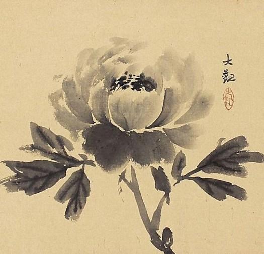Yokoyama Taikan - Flower
