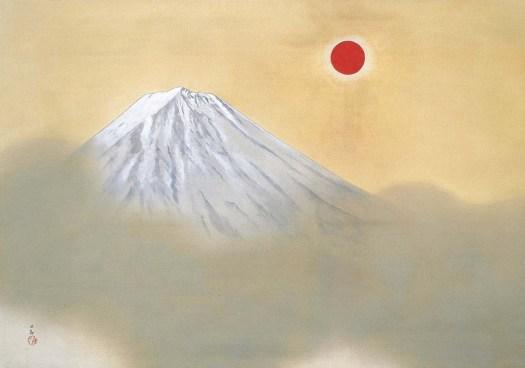 Yokoyama Taikan - Mount Fuji 3