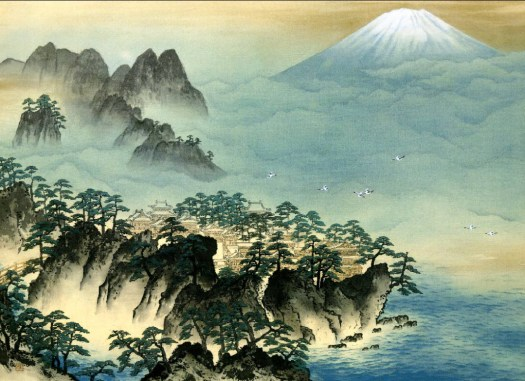 Yokoyama Taikan - Mountain of the Immortals