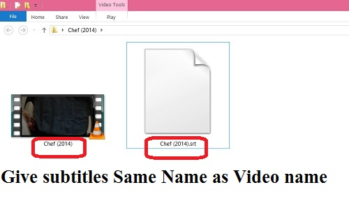 Set Permanent Subtitles In VLC or Any Media player/ DVD