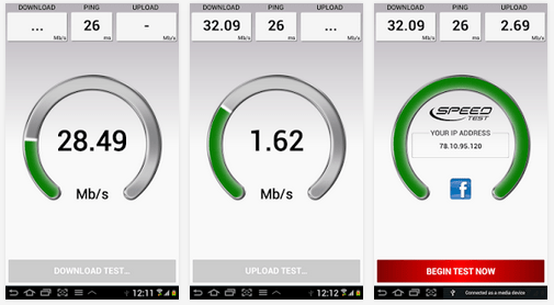 Best Internet Speed Test Android Apps for WiFi/ Broadband