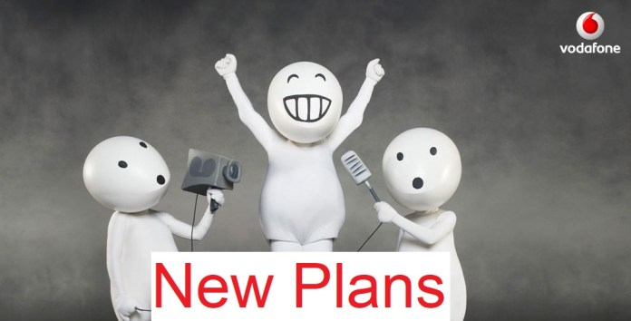 Vodafone New Plans
