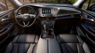 2017 Buick Envision interior