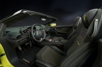 2017 Lamborghini Huracan LP 610 interior