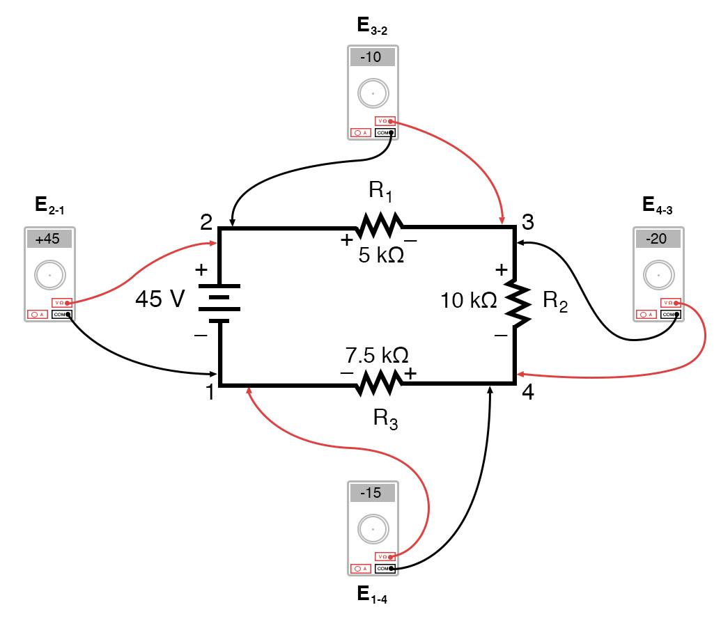 6 2 Kirchhoff S Voltage Law Kvl
