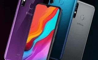 سعر ومواصفات هاتف Infinix hot 8 هواتف