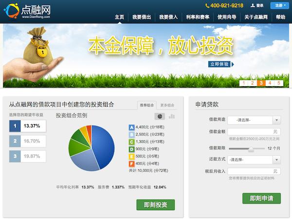 sinolending-dianrong-screenshot