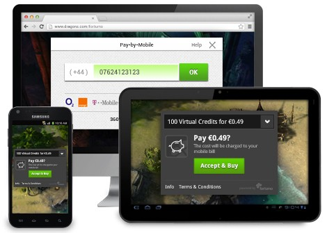 One-click Carrier Billing