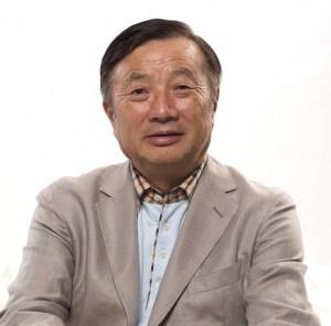 Huawei founder Ren Zhengfei. Source: Huawei