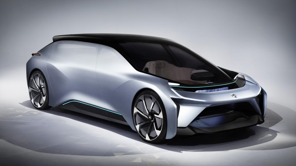 NIO Eve should be available on the US market in 2020.