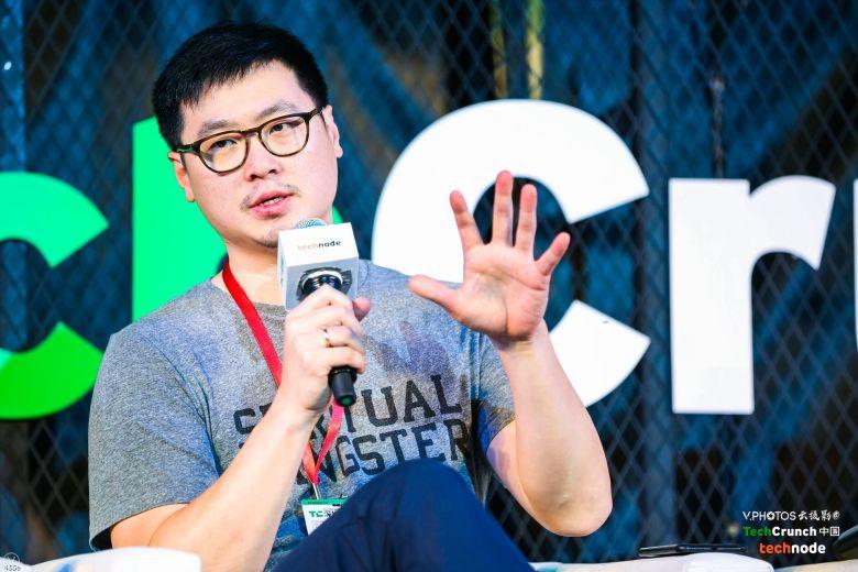 Phil Chen of Presence Capital at TechCrunch Shenzhen