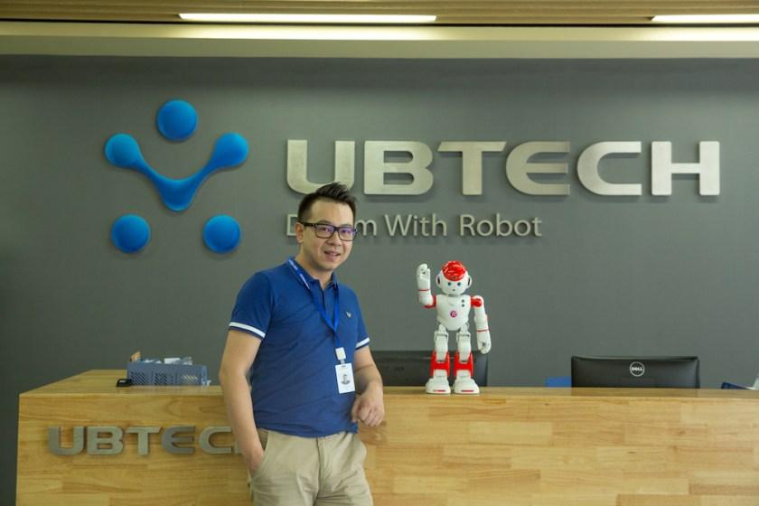 ubtech zhou jian robots