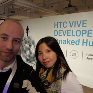 Co-founders of Hive VR (Image credit:TechNode)