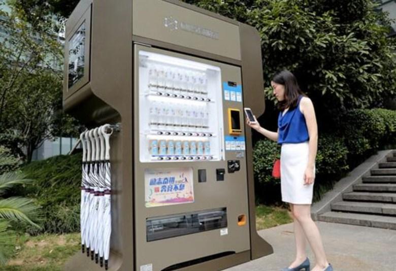 Xiaodian charging kiosk in Hangzhou (Image Credit: SouthMoney)
