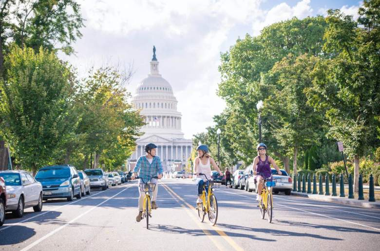 ofo launches in Washington, D.C., after its operation in Seattle and Massachusetts. (Image credit: ofo)
