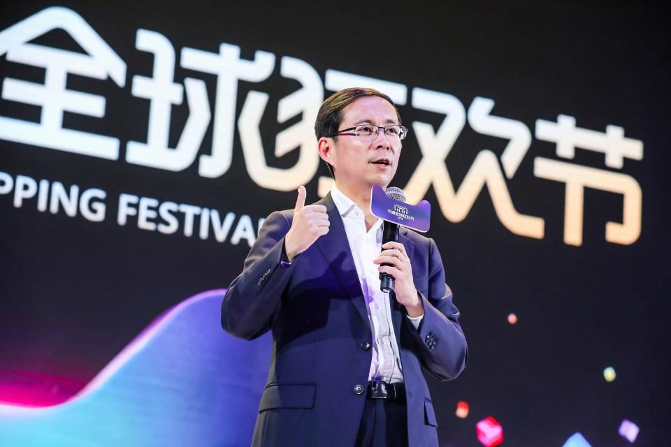Alibaba Group CEO Daniel Zhang at 2017 11.11 Kick Off in Shanghai_02