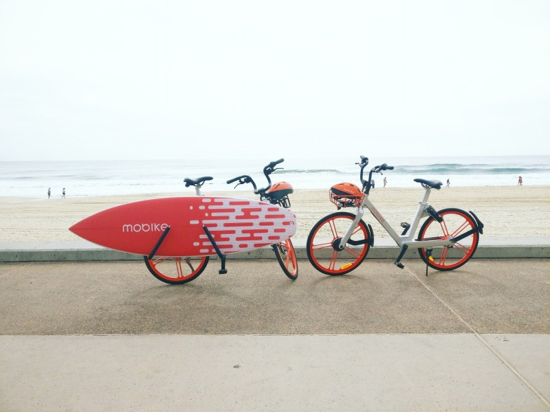 Mobike Australia Surfboard