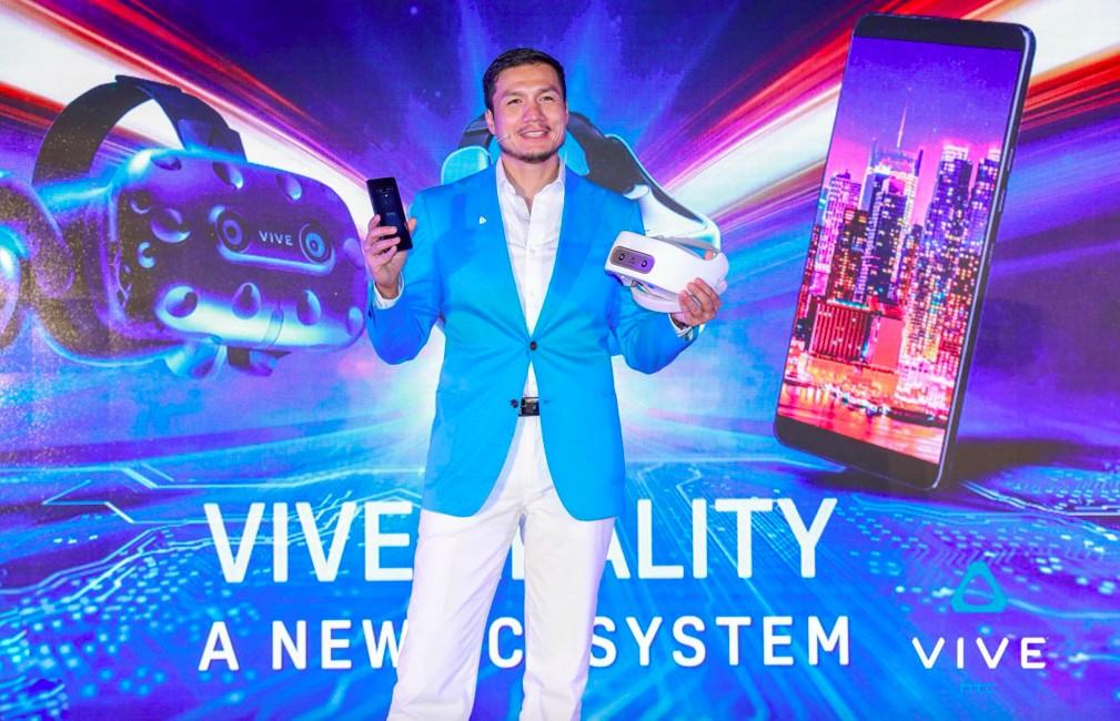 Smartphone integration highlights new Vive Reality ecosystem