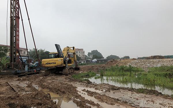Nansha construction site Faraday Future