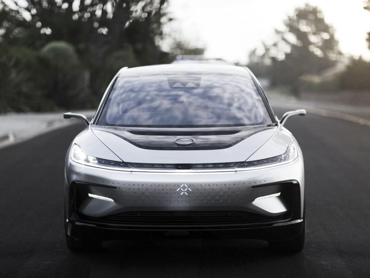 Faraday Future's FF91 electric crossover vehicle (Image credit: Faraday Future)