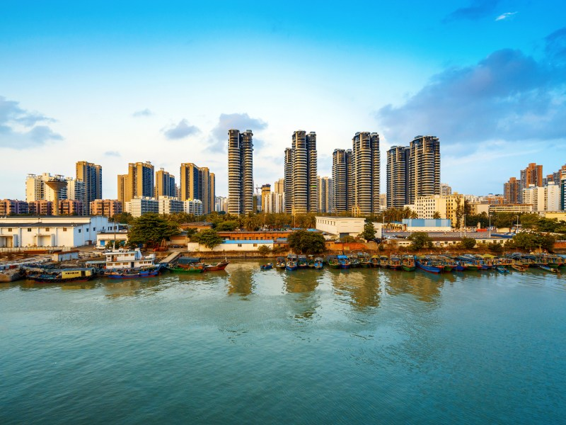 Hainan blockchain port