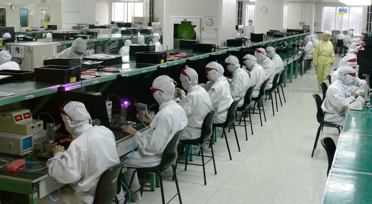 iPhone Microsoft China coronavirus Shenzhen Taiwan Foxconn Apple manufacturing