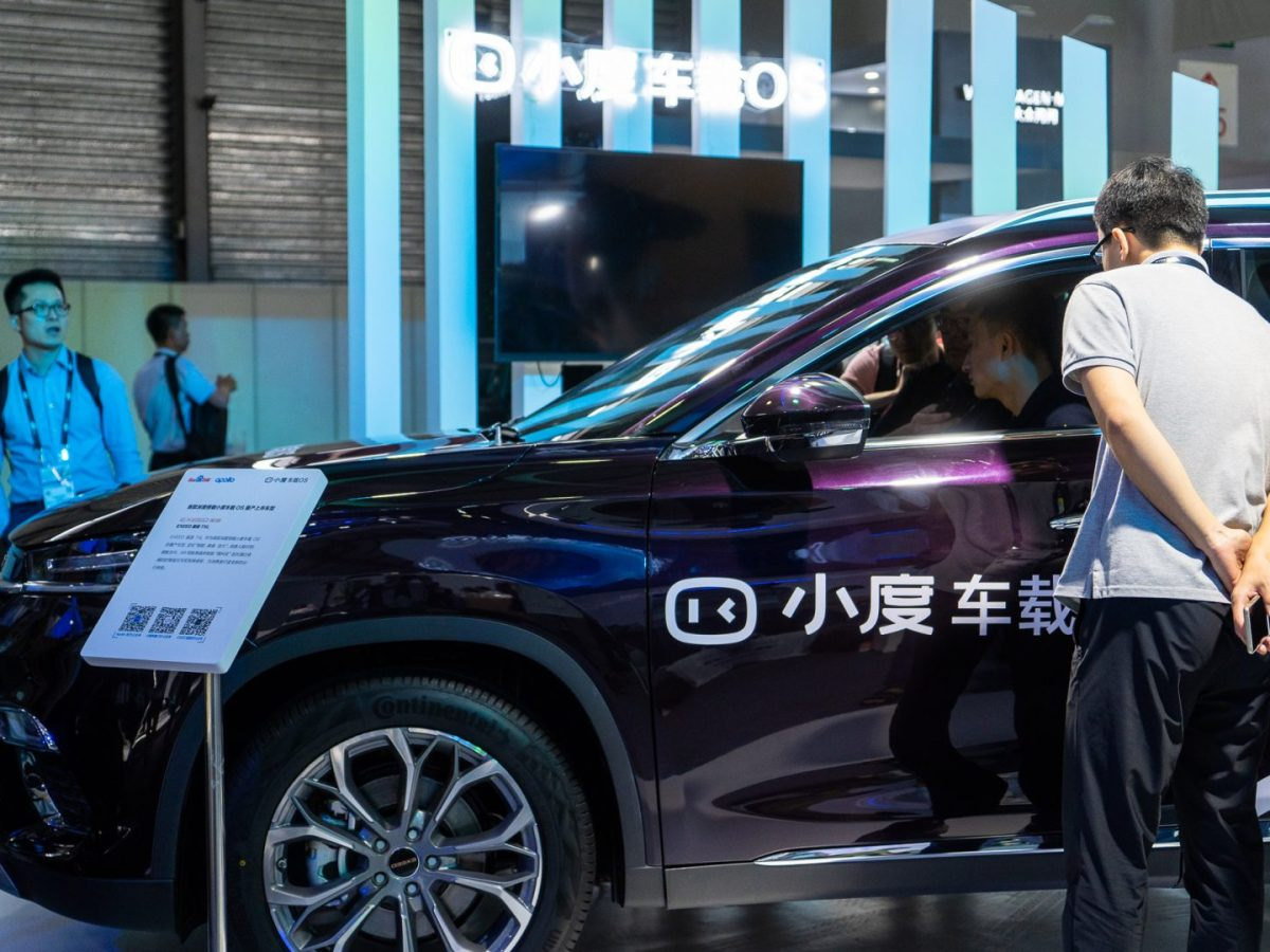 baidu autonomous driving connected vehicles self driving cars china av ev mobility car software