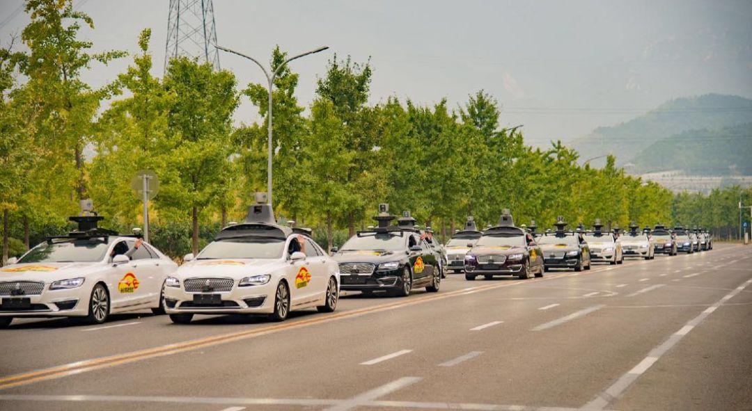 AVs Baidu AV driverless cars