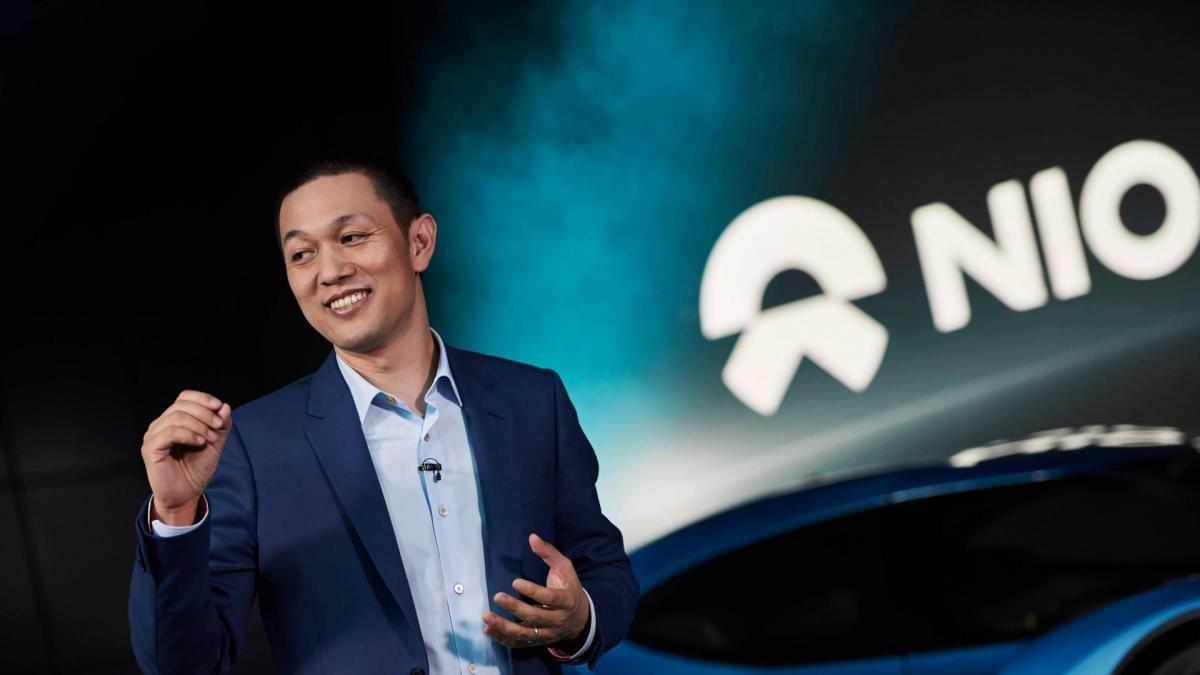 William Li, founder, chairman and CEO of Nio (Image credit: Nio)