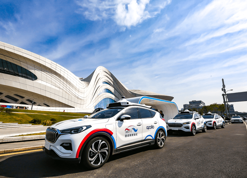 Baidu begins pilot robotaxi services with a fleet of 45 autonomous cars in the central Chinese city of Changsha on Thursday, September 26, 2019. (Image credit: Baidu)