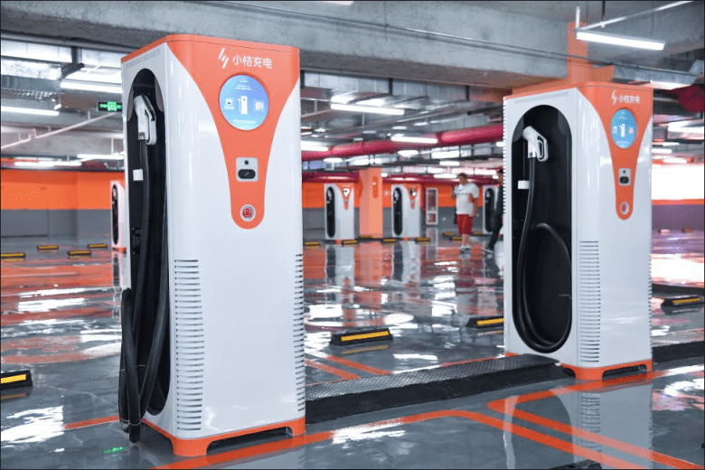 Didi provides EV charging services from Didi apps through its automobile solution platform Xiaoju (Image credit: Didi Chuxing)