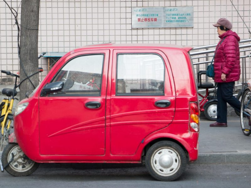 EV, golf cart, sanlunche, LSEV, tuktuk, mobility